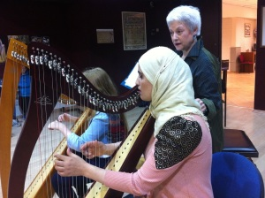 Yasmin in the Harp Festival 2